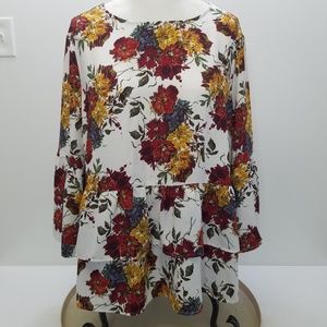 Time And Tru Plus Size Ladies Top